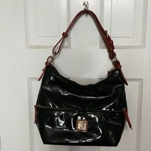 Dooney & Bourke black hobo purse.